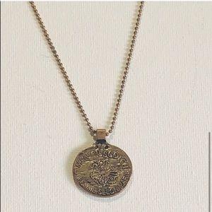 🔥SALE- any 4/$20 Maison Scotch Coin Necklace